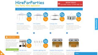Hire For Parties