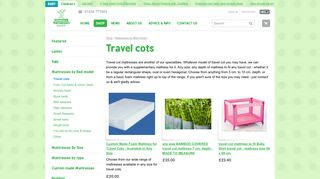 Childrens Travel Cots