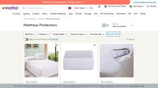 Wayfair Mattress Protectors