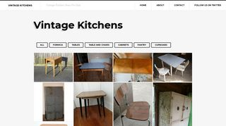 Vintage Kitchen Units