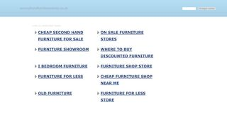 Secondhand Furniture Witney