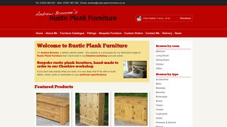 Rustic Plank Furniture