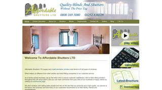 Affordable Shutters