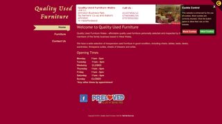 Quality Used Furniture West Wales