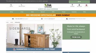 OakFurnitureLand Sideboards