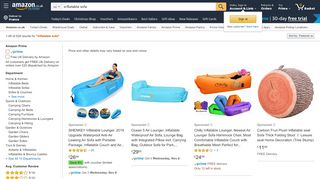 Amazon Inflatable Sofas