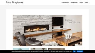 Fake Fireplaces