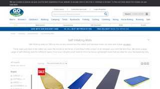 GO Outdoors Self Inflating Mats