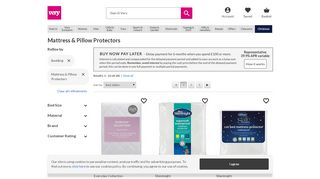 WoolWorths Mattress Protectors