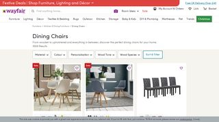 Wayfair Dining Chairs
