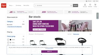 Argos Bar Stools