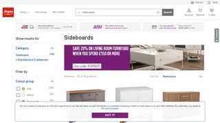 Argos Sideboards