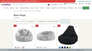 Wayfair Bean Bags